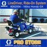 Graco LineDriver easy liner - Ride-On System for Line Striping - 262004