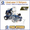 Graco LineLazer V 250DC HP Automatic Series - Three Gun, Automatic - Pressurized Beads Installed 2-Tanks - 17H474