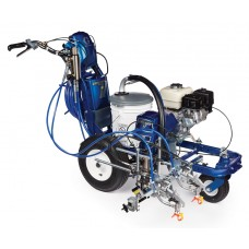 Graco LineLazer V 5900 HP Automatic - Airless Paint Line Striper 2-Guns, 1-Automatic - with Green Laser Guidance - 17H457