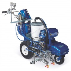 LineLazer V ES 2000 HP Automatic Series Electric Airless Line Striper, 2 Auto Guns, Two AGM Batteries, LazerGuide 2000 - 25M560